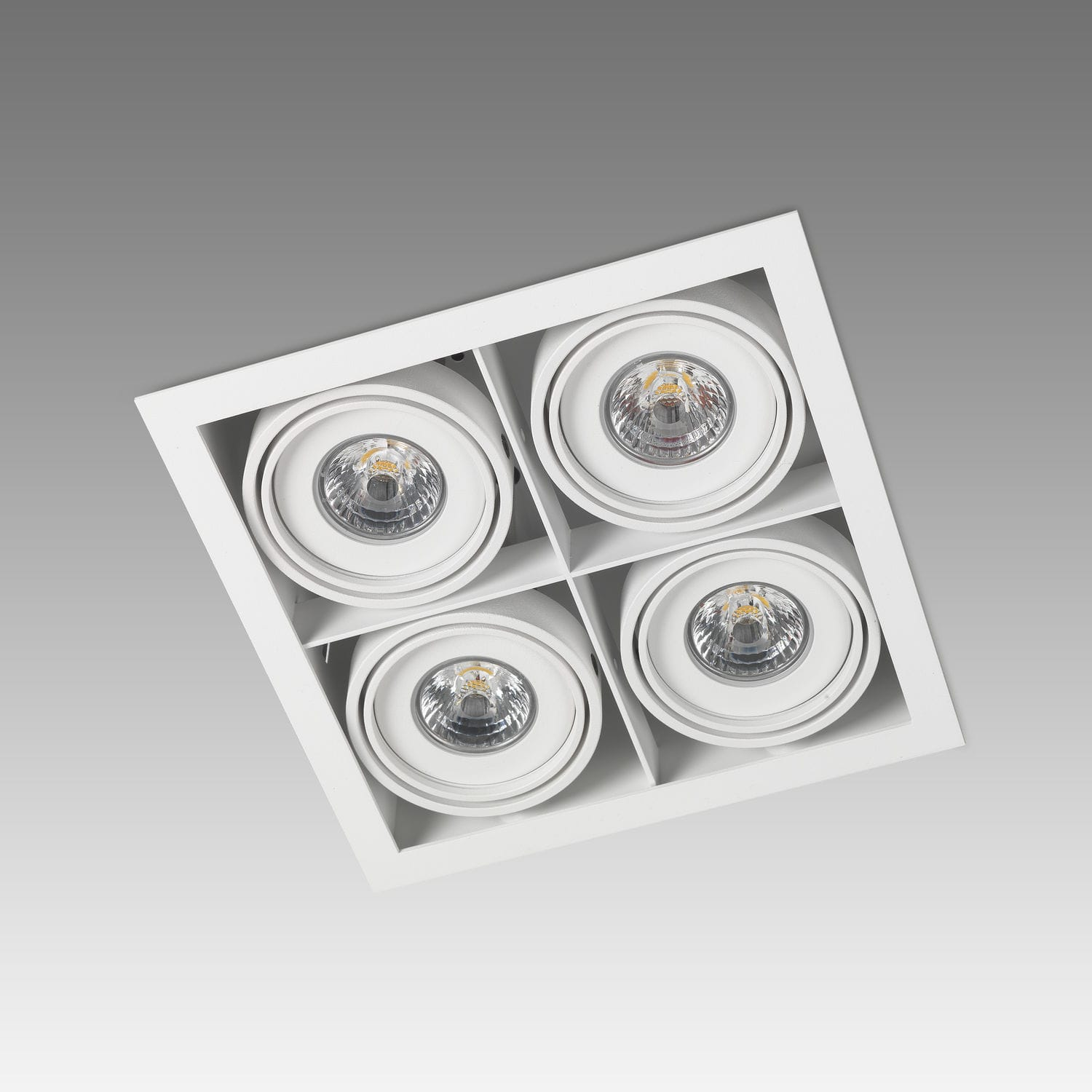 Recessed ceiling spotlight / indoor / LED / square - PICCOLO FRAME ... for Ceiling Double Spot Light  58lpg