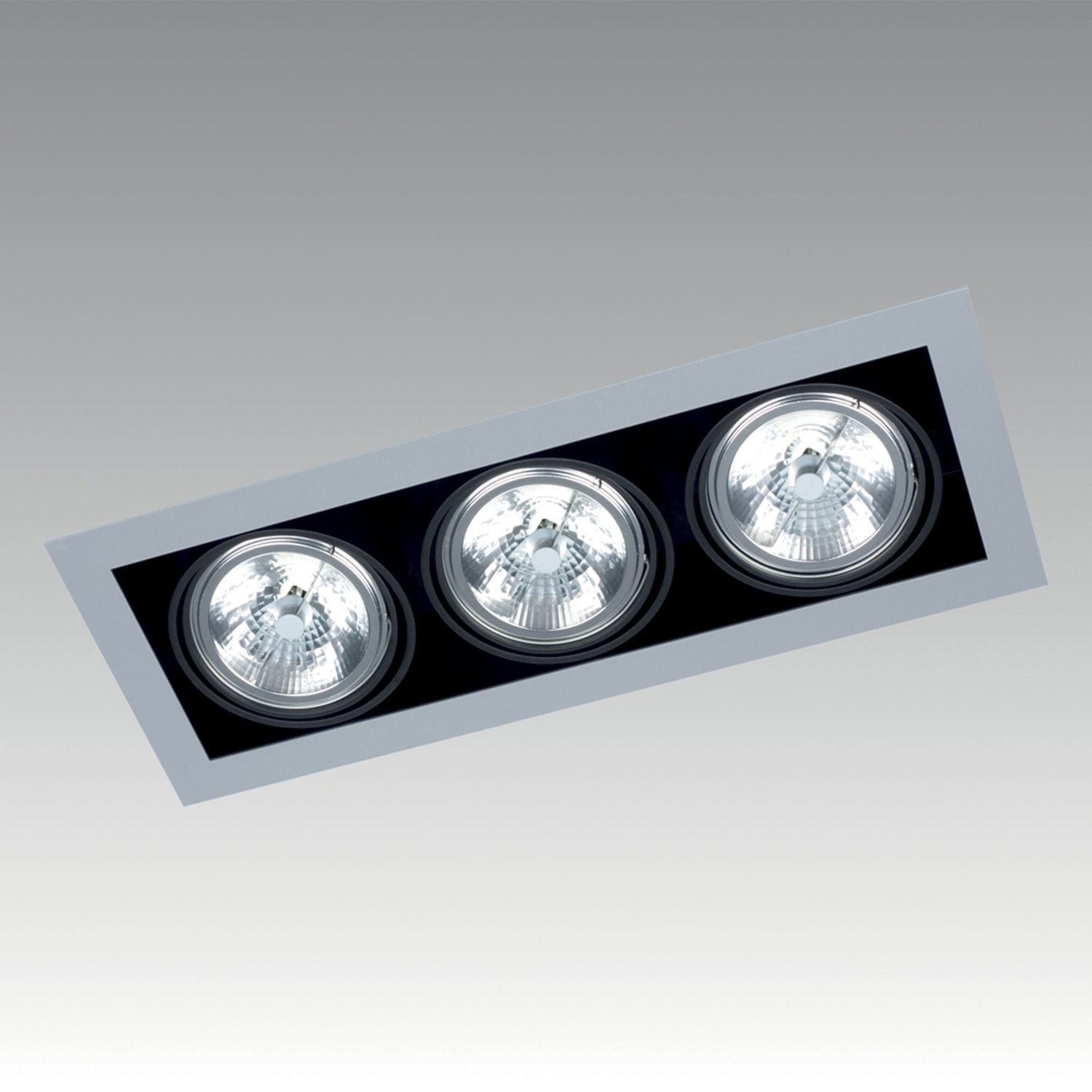 Recessed ceiling spotlight / indoor / LED / square - FRAME SINGLE ... for Ceiling Spot Light Square  557yll