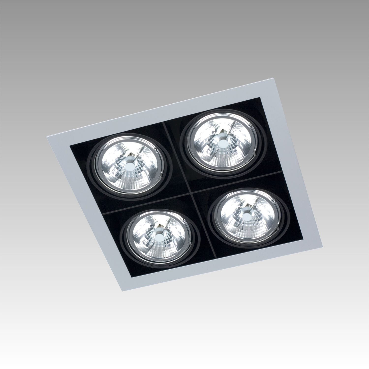 Recessed ceiling spotlight / indoor / LED / square - FRAME SINGLE ... for Ceiling Double Spot Light  173lyp