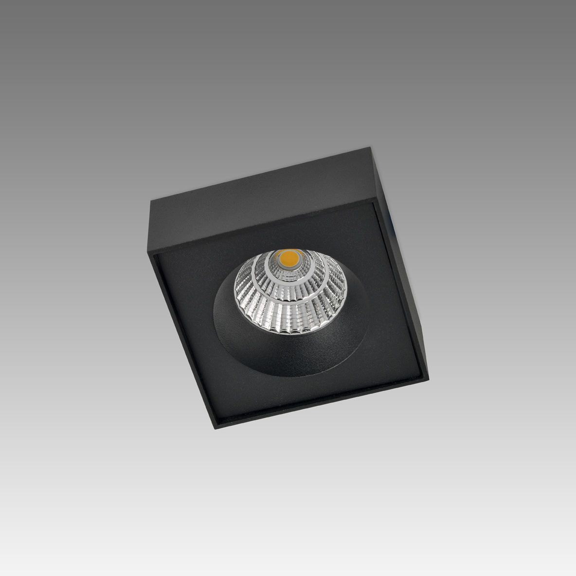 Ceiling-mounted spotlight / indoor / LED / metal - CONE SQUARE HALF ... for Ceiling Spot Light Square  193tgx