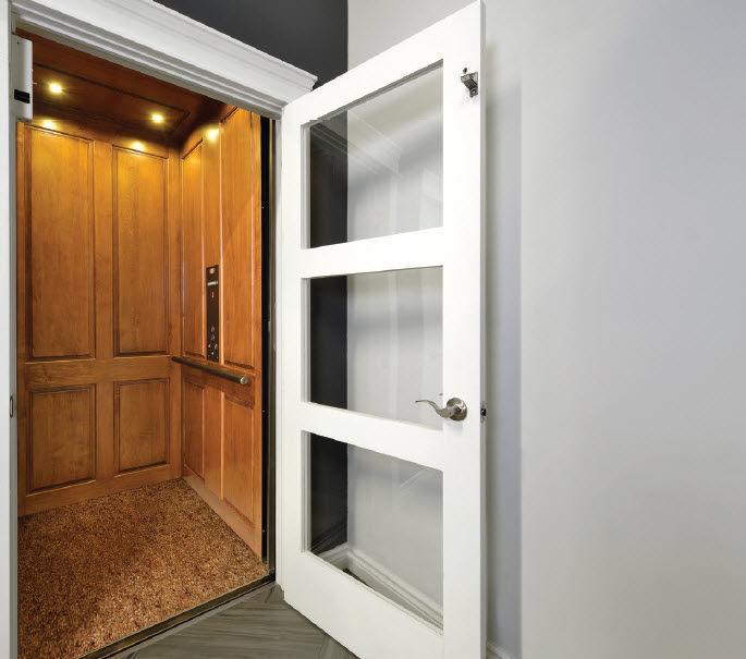 Hydraulic elevator / home - INFINITY, 5pers, 15m - SAVARIA CONCORD ...