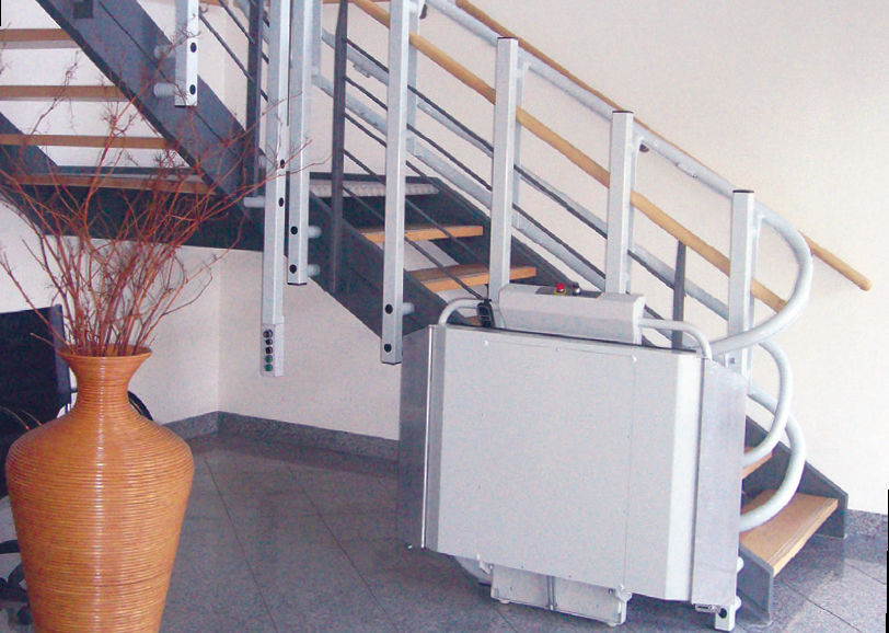 Handicapped platform stair lift / inclined - OMEGA - SAVARIA CONCORD