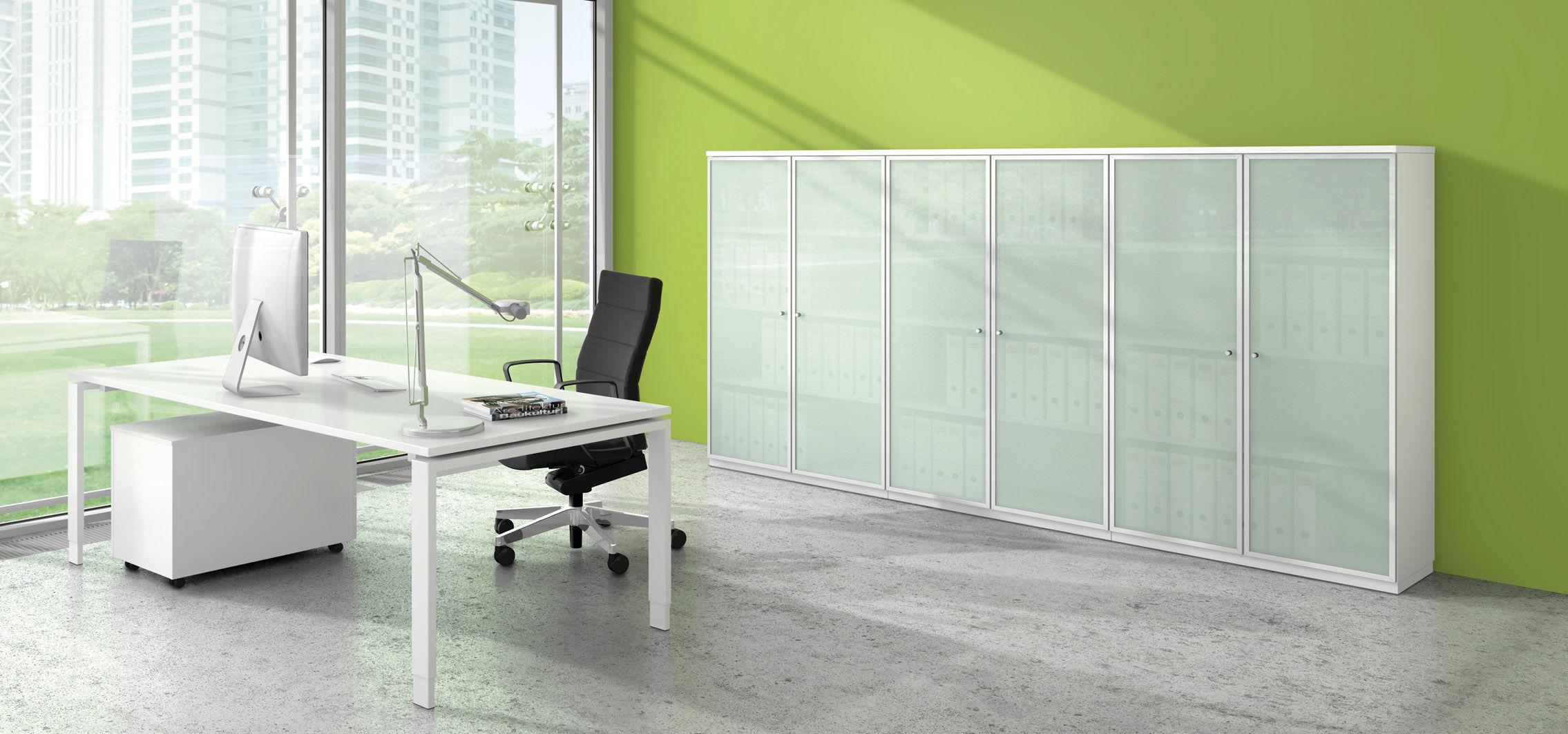 Low filing cabinet / wooden / wood veneer / modular - ALLVIA ...