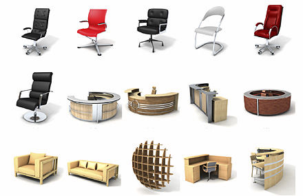 office library furniture.  furniture 2d3d object library office furniture dosch design to office library furniture r