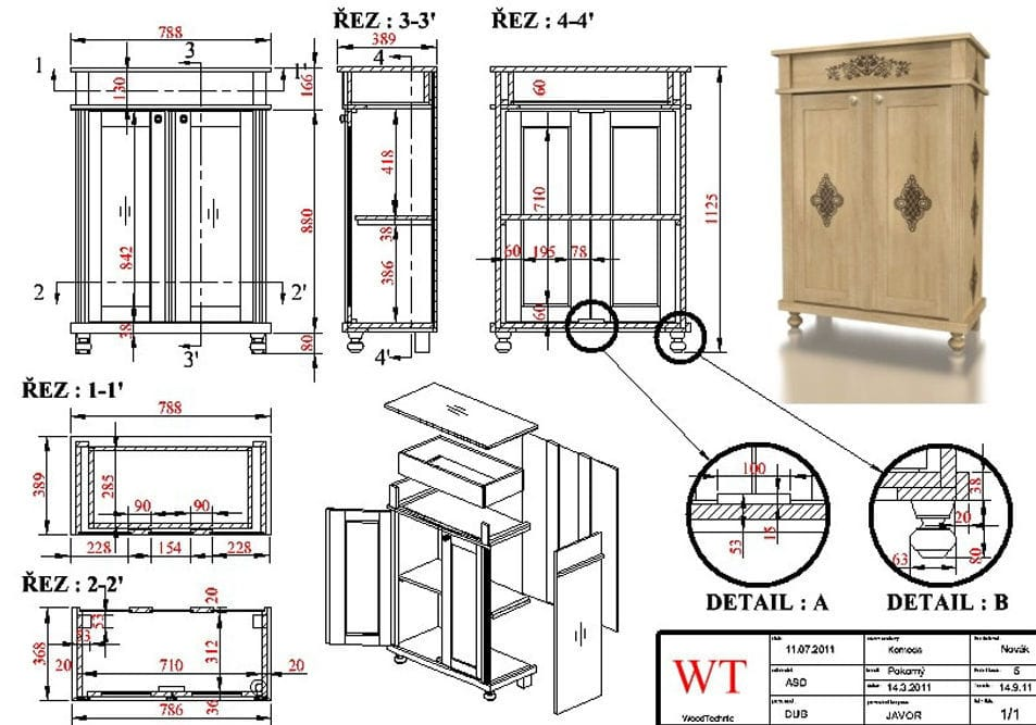 Awe Inspiring Furniture Design Software Cad For Wooden Structures Turbocad Largest Home Design Picture Inspirations Pitcheantrous