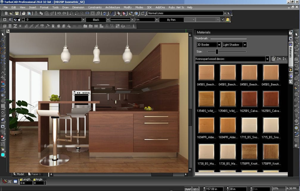 Furniture design software   CAD   for wooden structures   TURBOCAD  MAKER V15. Furniture design software   CAD   for wooden structures   TURBOCAD
