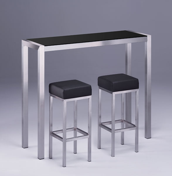 Contemporary High Bar Table / Glass / Solid Wood / Rectangular HR 873 EVENT  Hans Hansen ...