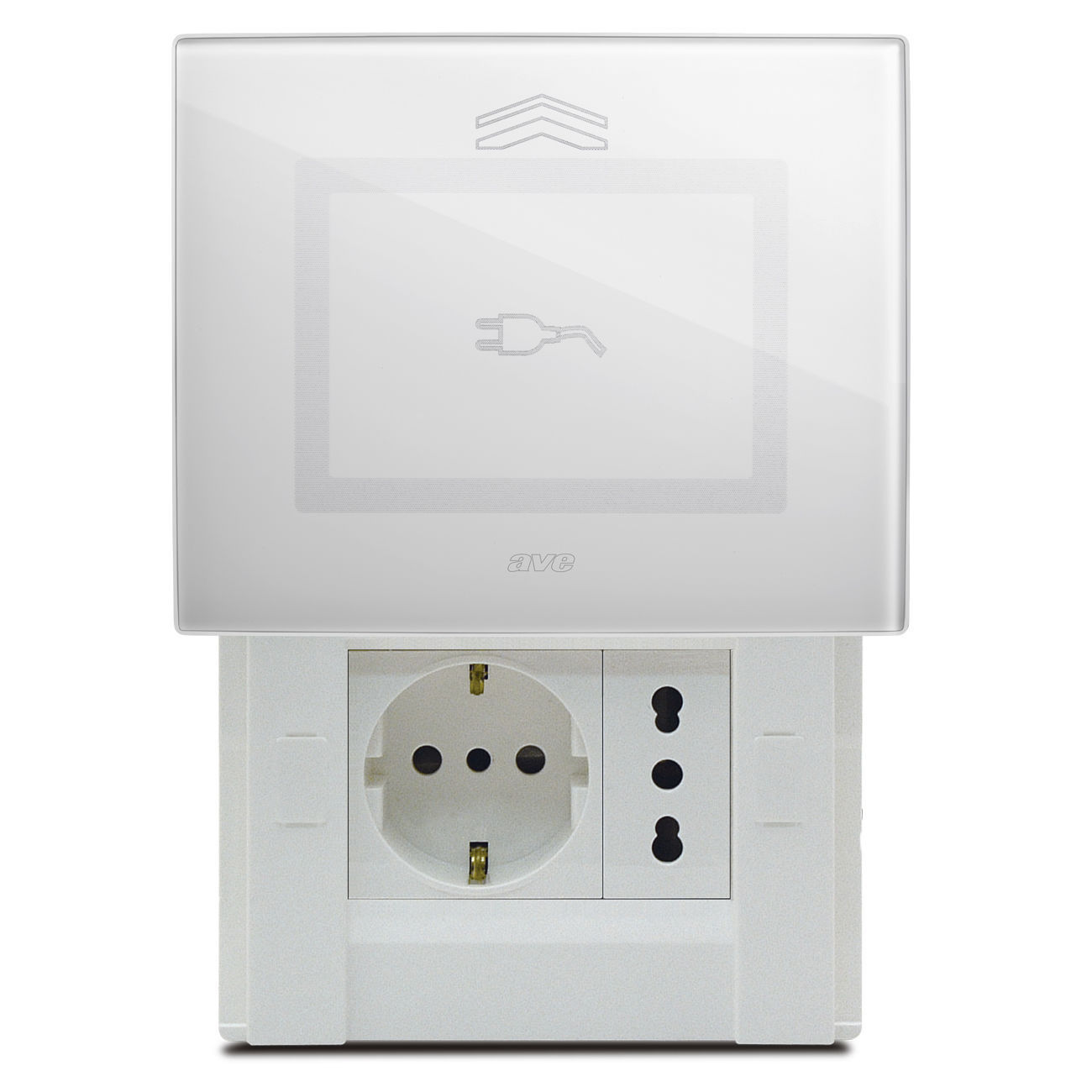 Home automation system switch / touch / glass / contemporary - VERA ...