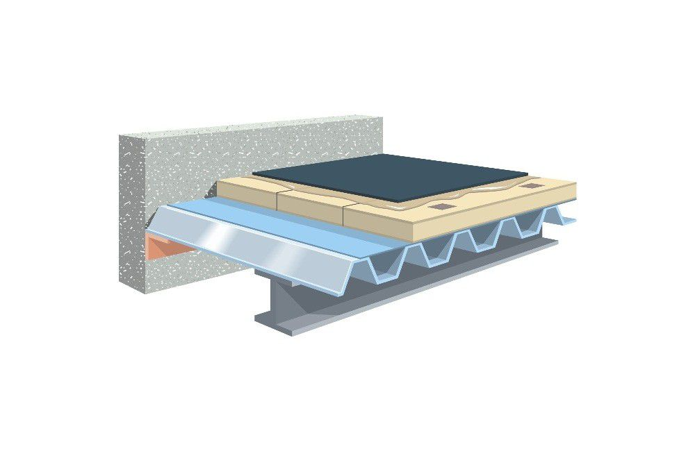 Metal Profile Roof System / Embedded Insulation FAS Firestone Building  Products