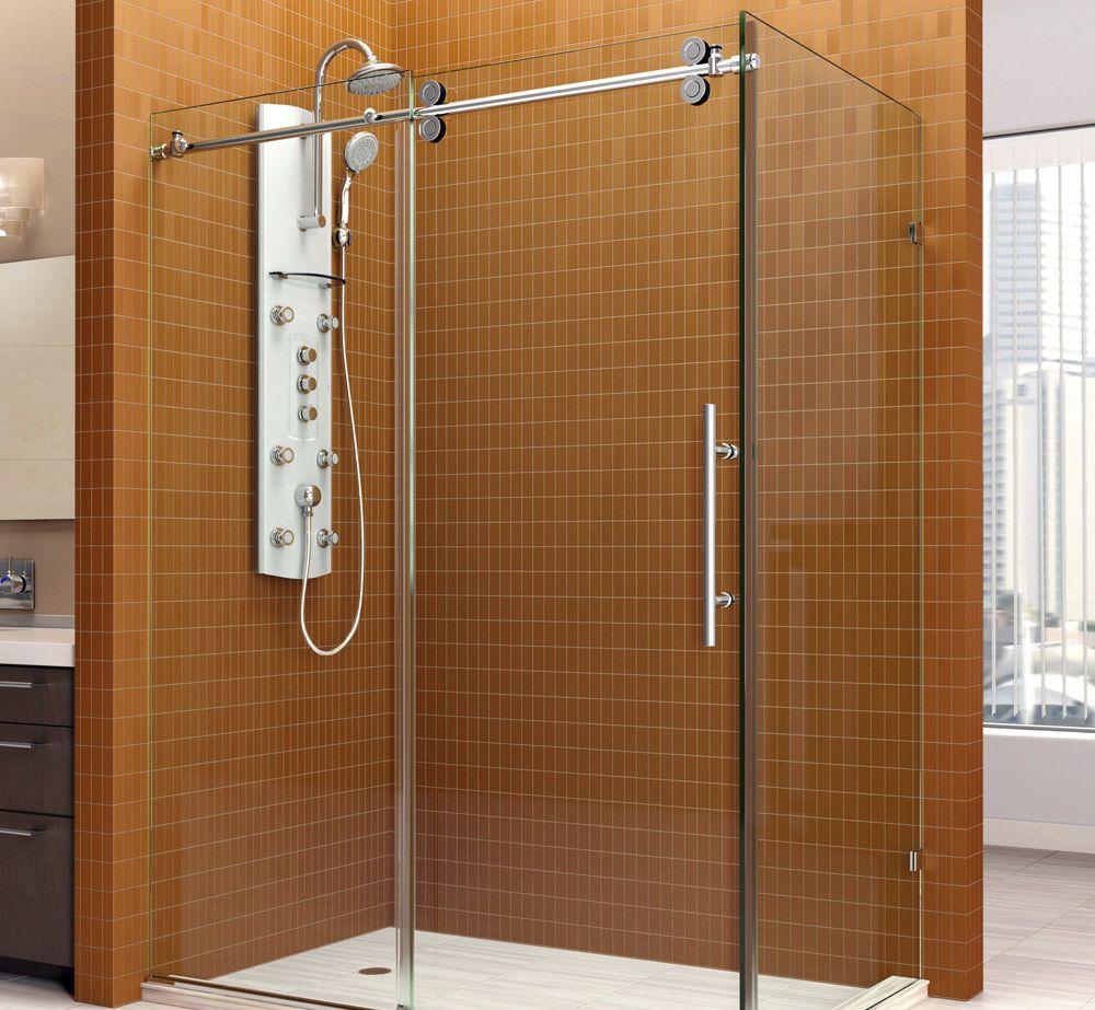 Sliding shower screen / corner - ENIGMA - DreamLine - Videos
