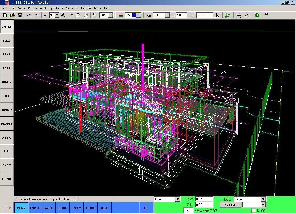 3d construction software