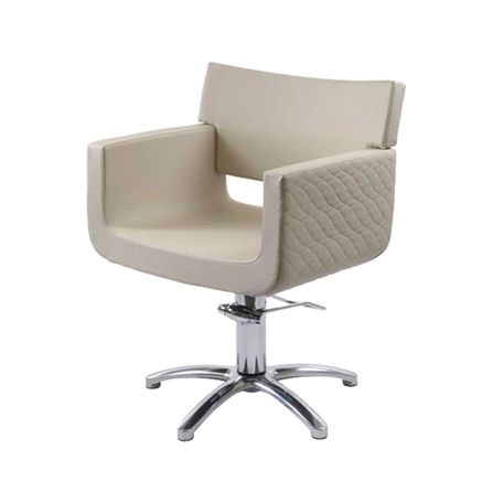 Polyurethane Beauty Salon Chair / Swivel / With Hydraulic Pump / Star Base    MOON