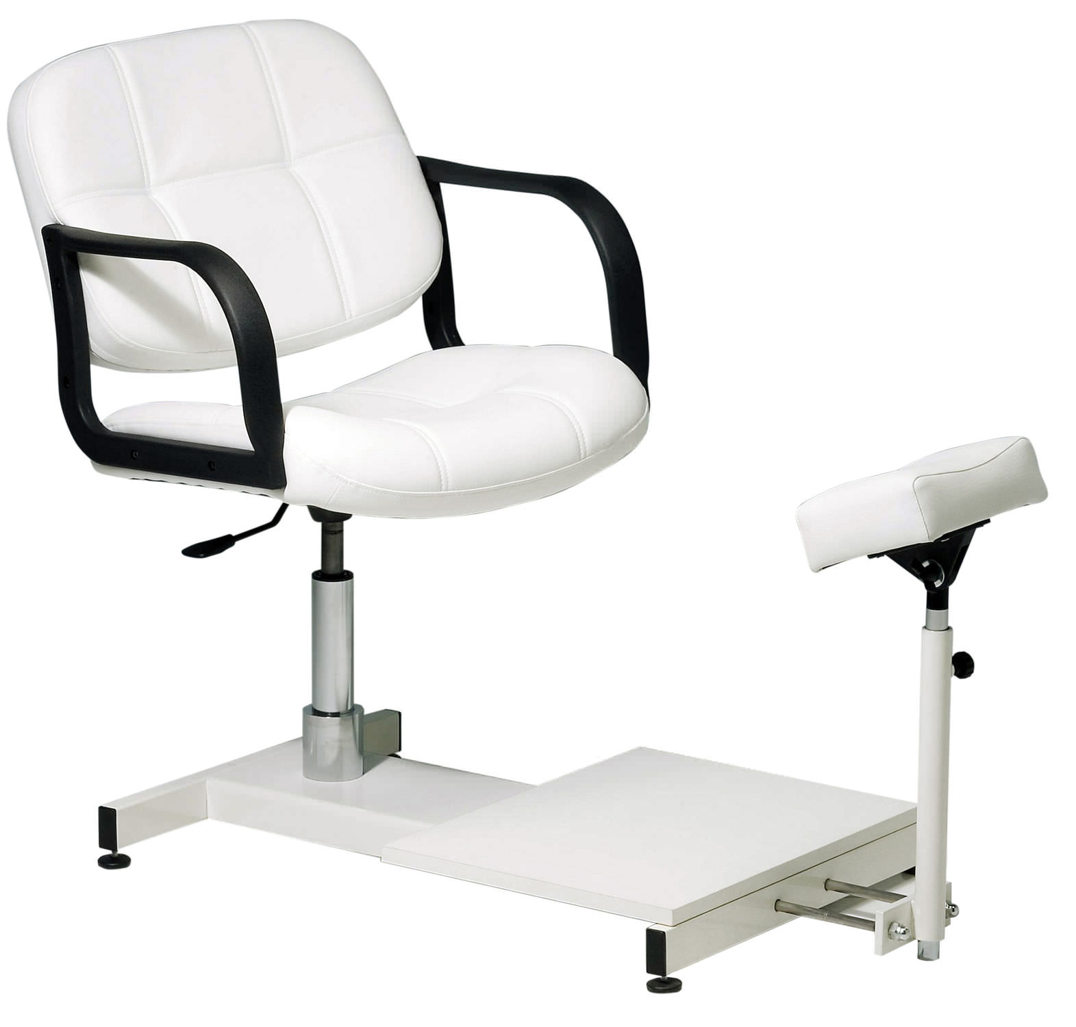 Vinyl pedicure chair with hydraulic pump CONFORT 793 BMP Srl