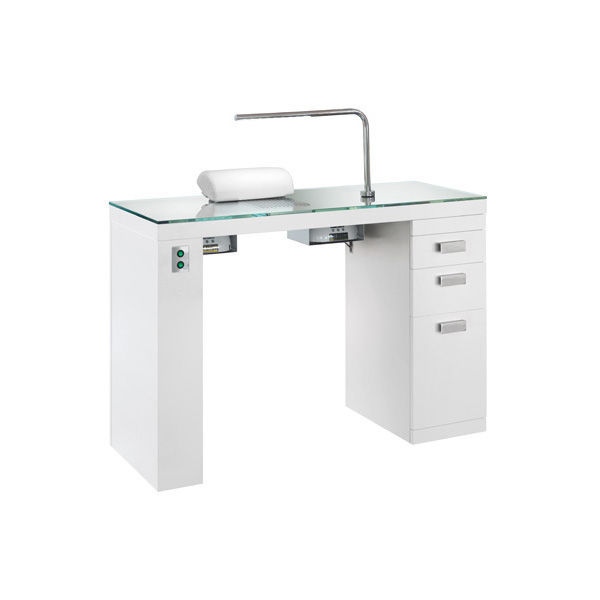 Manicure table with vacuum cleaner - SMART NAILS - NILO