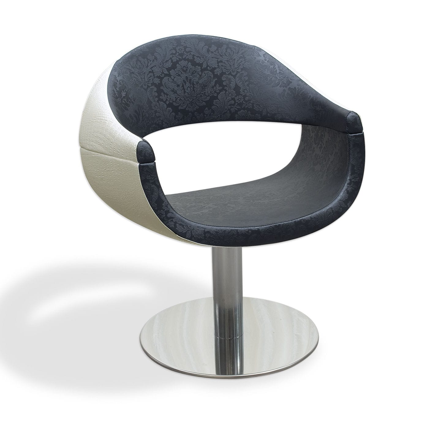 synthetic leather beauty salon chair central base vezzosi style