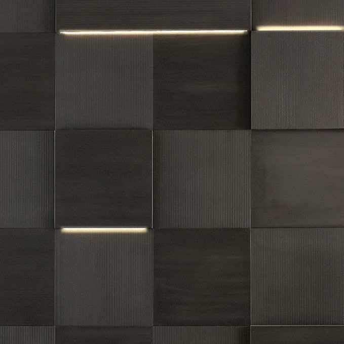 Bathroom Tile Wall Natural Stone Matte Striped Led Series By Elia Nedkov