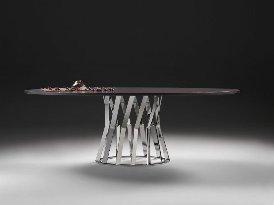 Conosciuto Contemporary table / marble / round / oval - RAY by Stefano Betlio  WF52