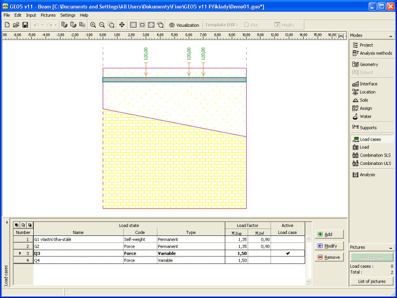 Special foundation calculation software / for concrete structures - FINE