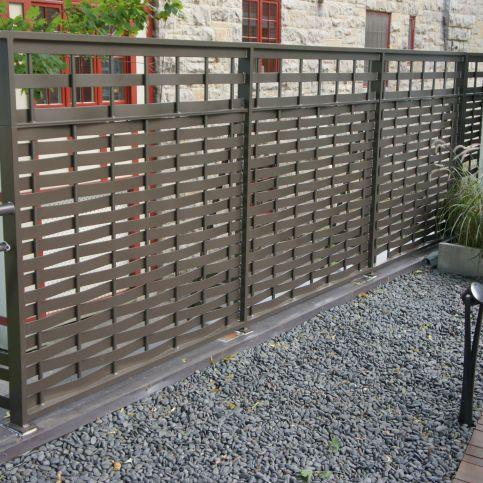 Bon Garden Fence / With Bars / Aluminum   WOVEN 5350