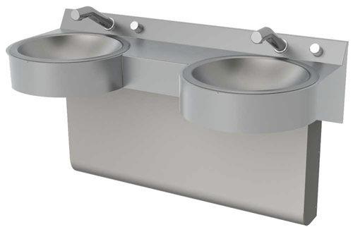 Double Vanity Top / Stainless Steel / Professional   MERIDIAN : 3702