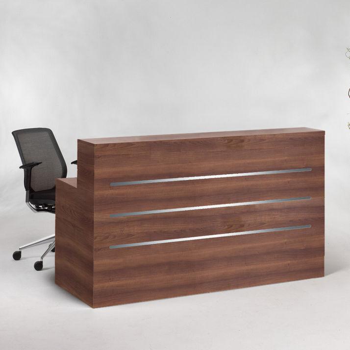 Wooden Reception Desk Yc Compact