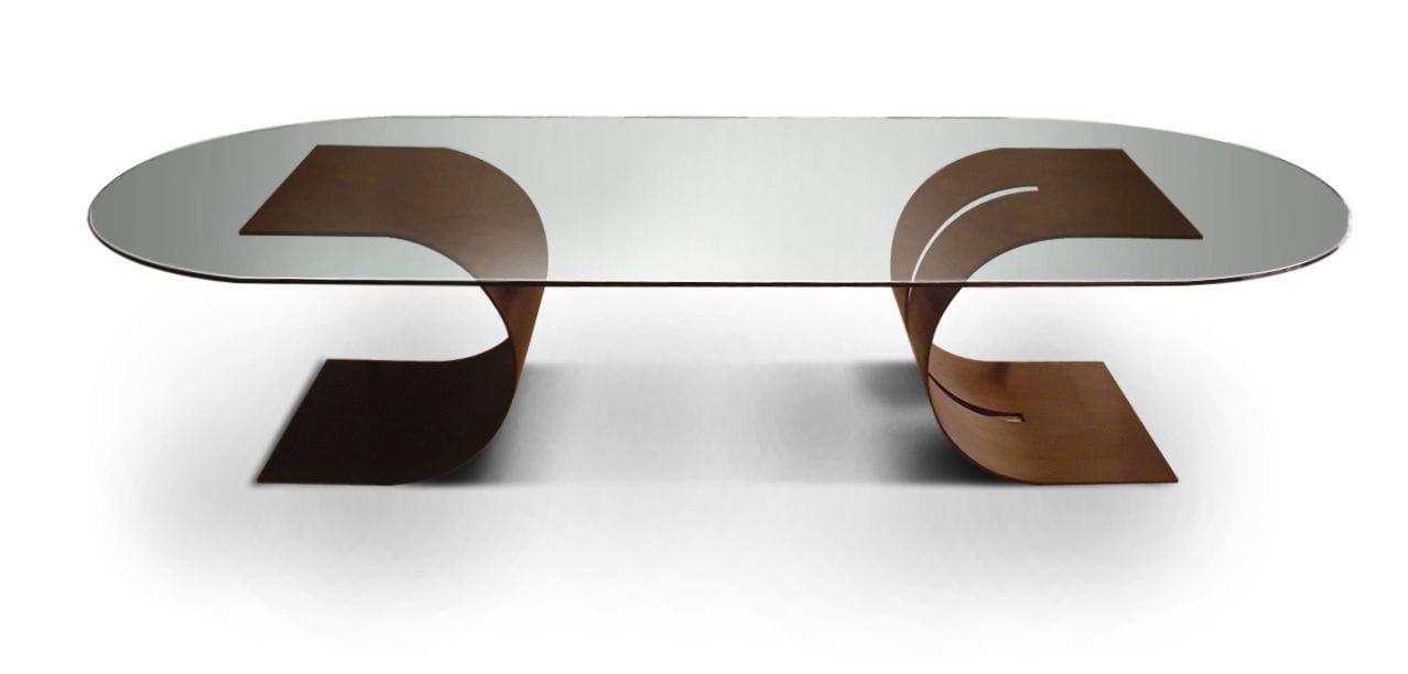 Marvelous ... GONZALO DE SALAS Contemporary Boardroom Table / Metal / Lacquered Metal  / Rectangular   CARLOVI