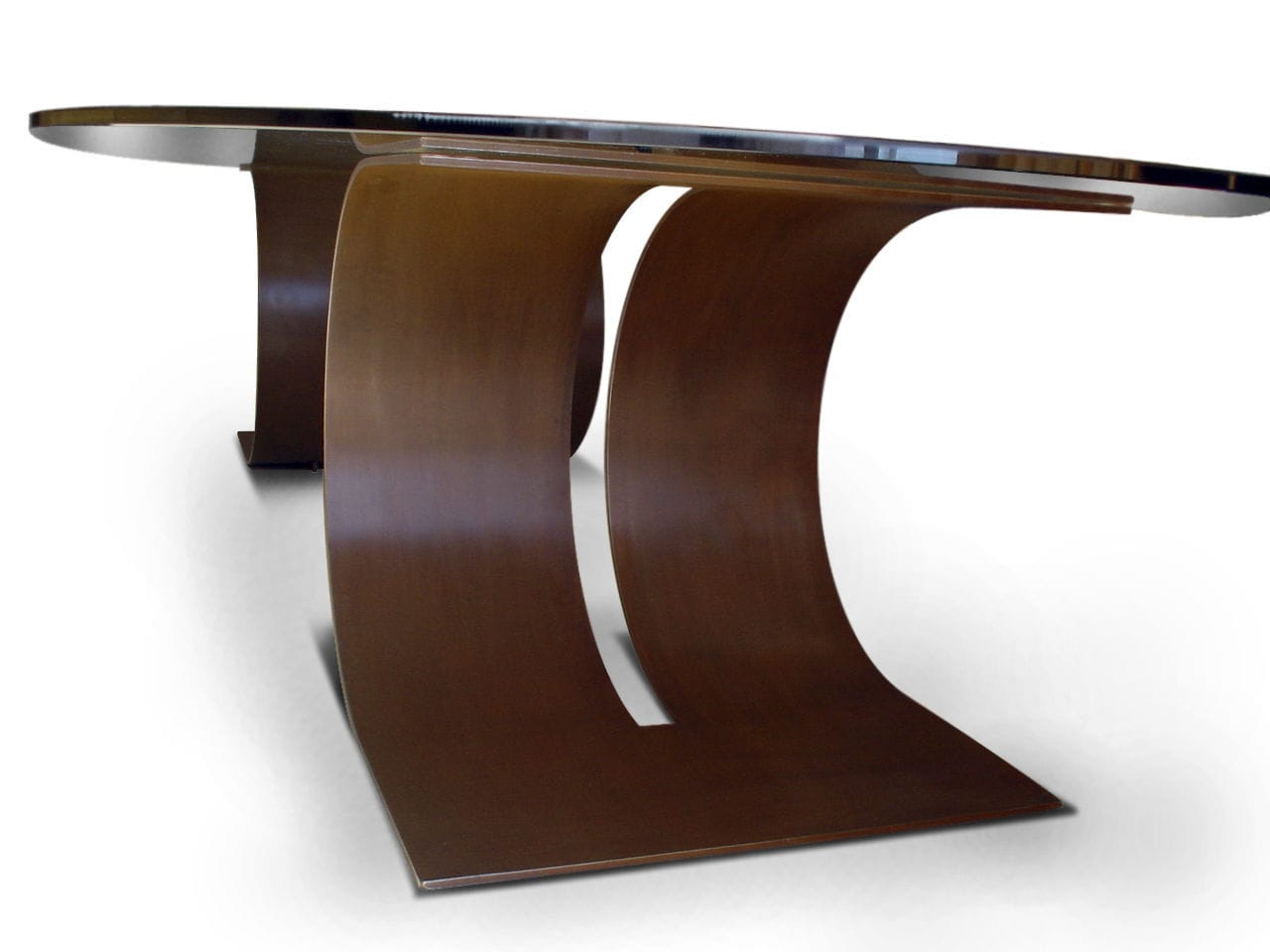 ... Contemporary Boardroom Table / Metal / Lacquered Metal / Rectangular  CARLOVI GONZALO DE SALAS ...