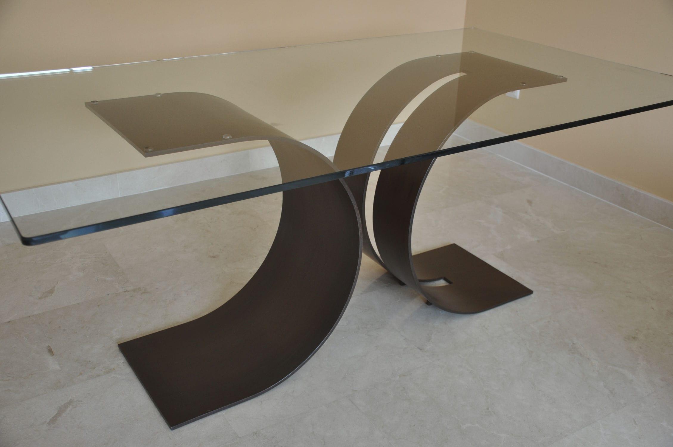 Good Contemporary Dining Table / Metal / Lacquered Metal / Rectangular CARLOVI GONZALO  DE SALAS Gallery