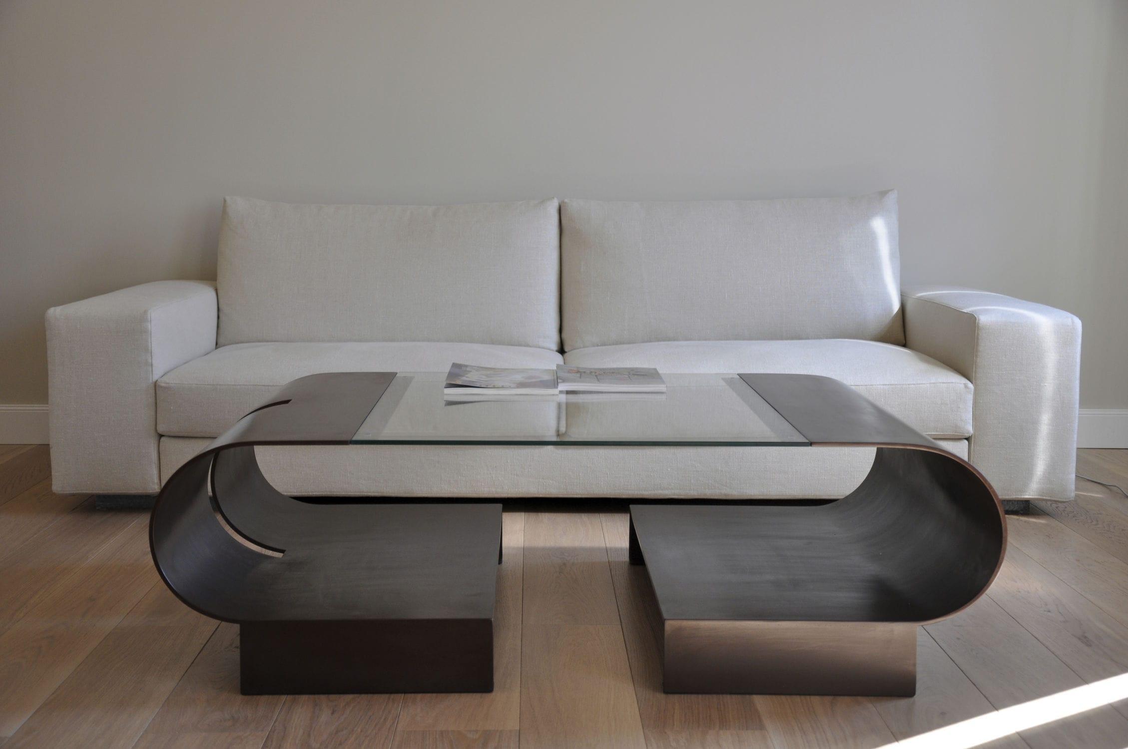 Contemporary Coffee Table / Glass / Rectangular ELVA GONZALO DE SALAS ...