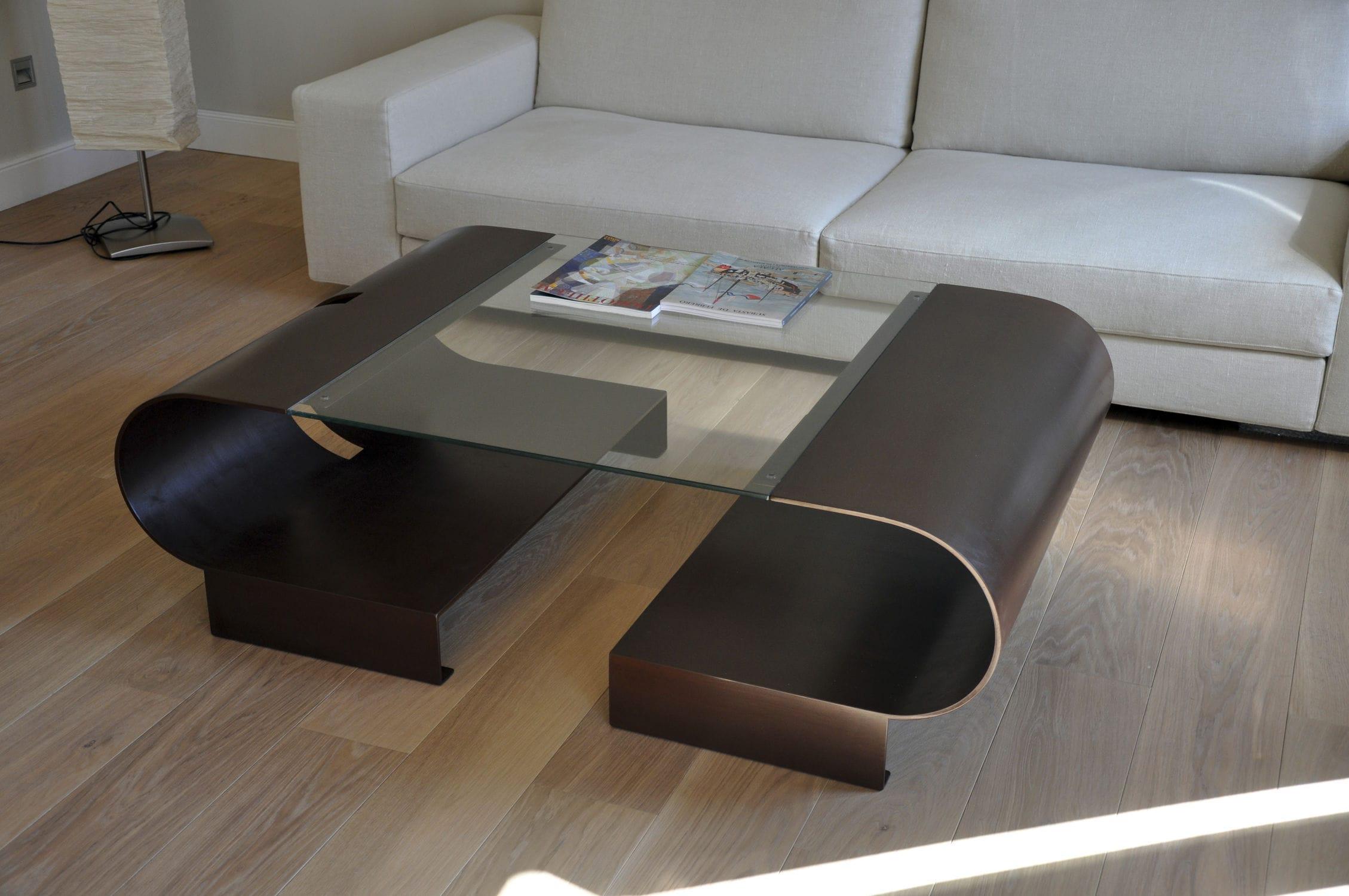 ... Contemporary Coffee Table / Glass / Rectangular ELVA GONZALO DE SALAS Pictures