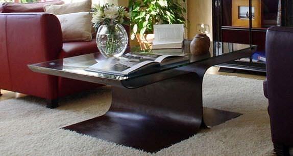 Great ... GONZALO DE SALAS Contemporary Coffee Table / Glass / Rectangular   LOTO Home Design Ideas