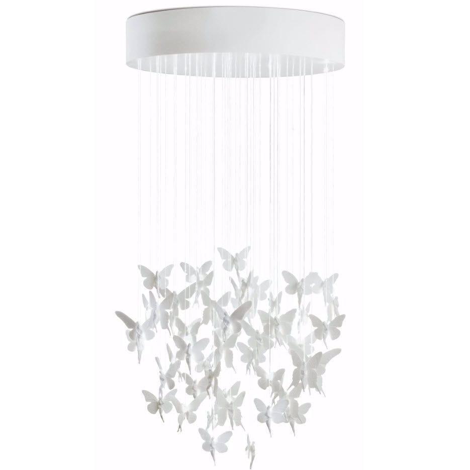 Contemporary chandelier porcelain led fiber optic niagara contemporary chandelier porcelain led fiber optic niagara by bodo sperlein arubaitofo Images