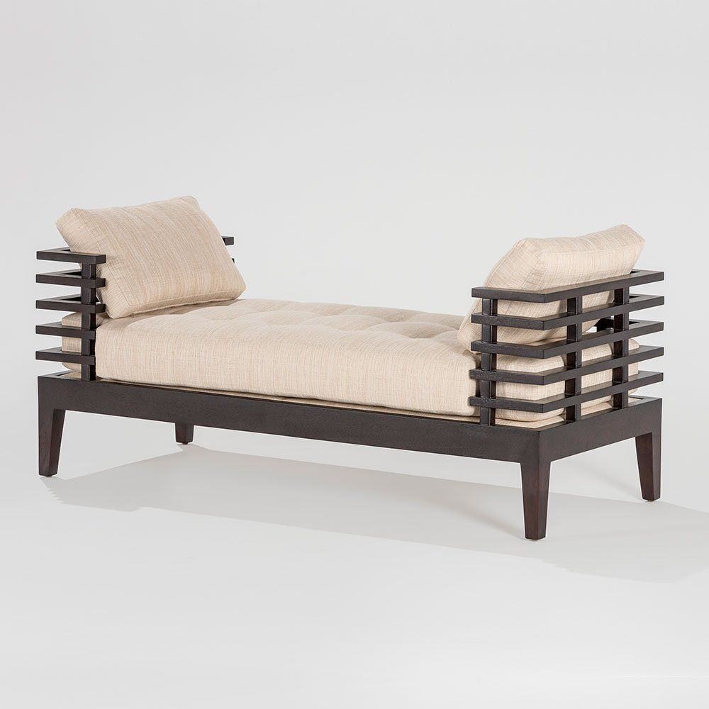 ... Contemporary daybed / fabric / wooden / indoor CHOCOLATE 100/120  Adriana Hoyos ... - Contemporary Daybed / Fabric / Wooden / Indoor - CHOCOLATE 100/120