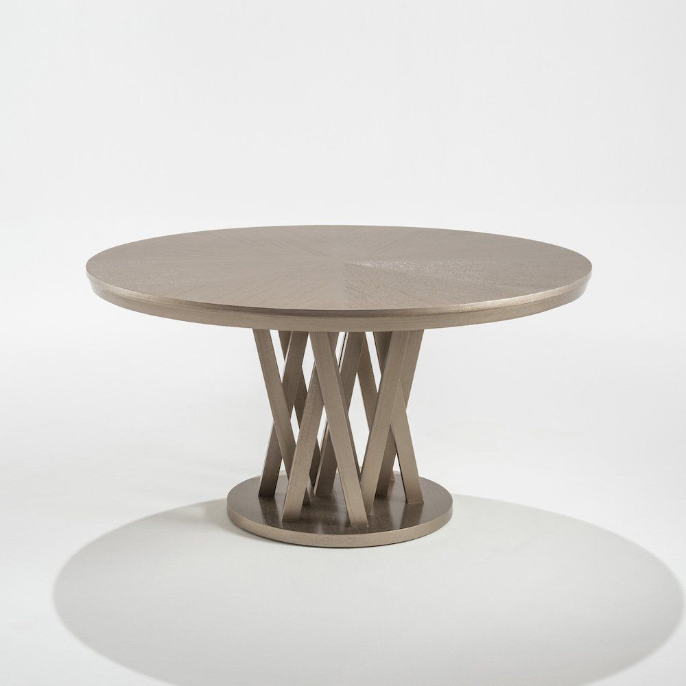 Contemporary dining table / wooden / round - CARAMELO 750 ...