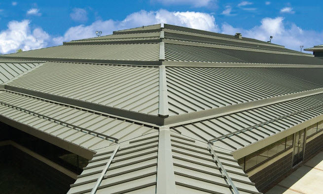 Beautiful ... Roof Snow Guard COLORGARD® PAC CLAD Petersen Aluminum