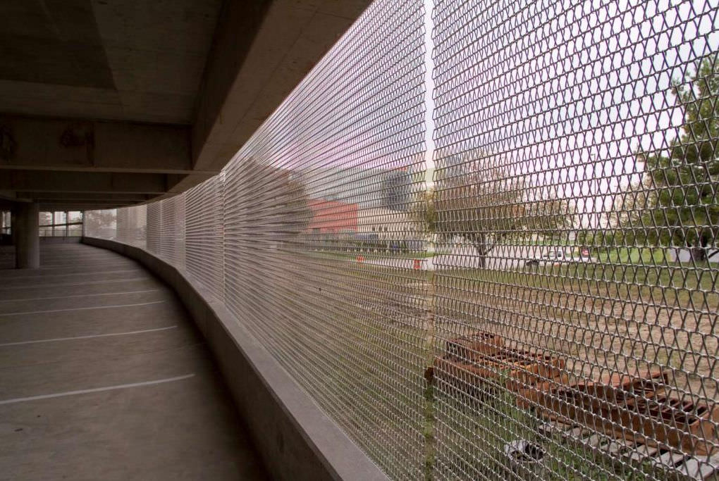 Merveilleux ... Wire Solar Shading Mesh / For Walls / Stainless Steel / Triangular Mesh  SCALE Cambridge Architectural ...