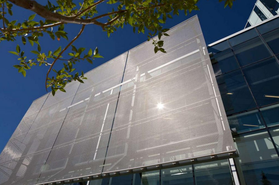 ... Wire Mesh Solar Shading / Stainless Steel / For Facades / Vertical  DIGITAL LIBRARY By Kasian ...