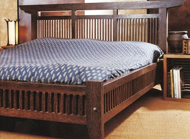 Bed 210 160.Double Bed Contemporary Teak 160x200 Cm Flit Palm 160