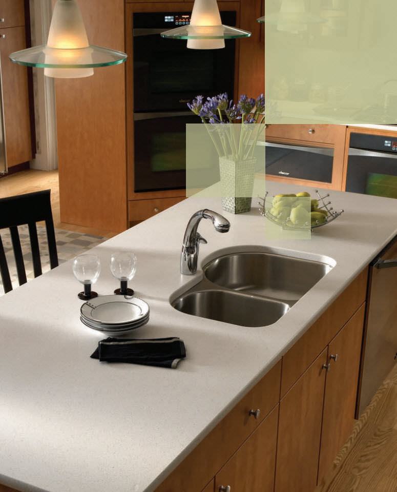silestone® countertop / kitchen - blanco maple - vt industries