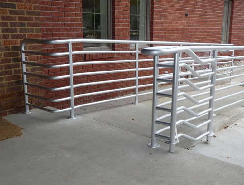 Aluminum Handrail Couturier Iron Craft