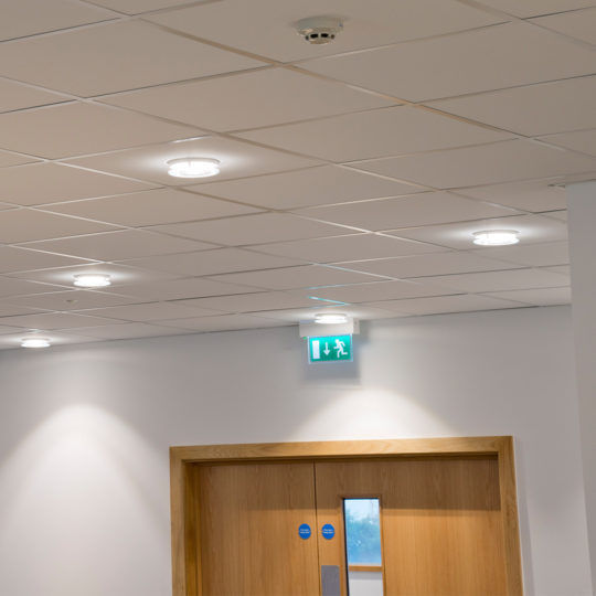 ceiling emergency light / recessed / linear / LED - SAFE ROUTE™ & Ceiling emergency light / recessed / linear / LED - SAFE ROUTE ...