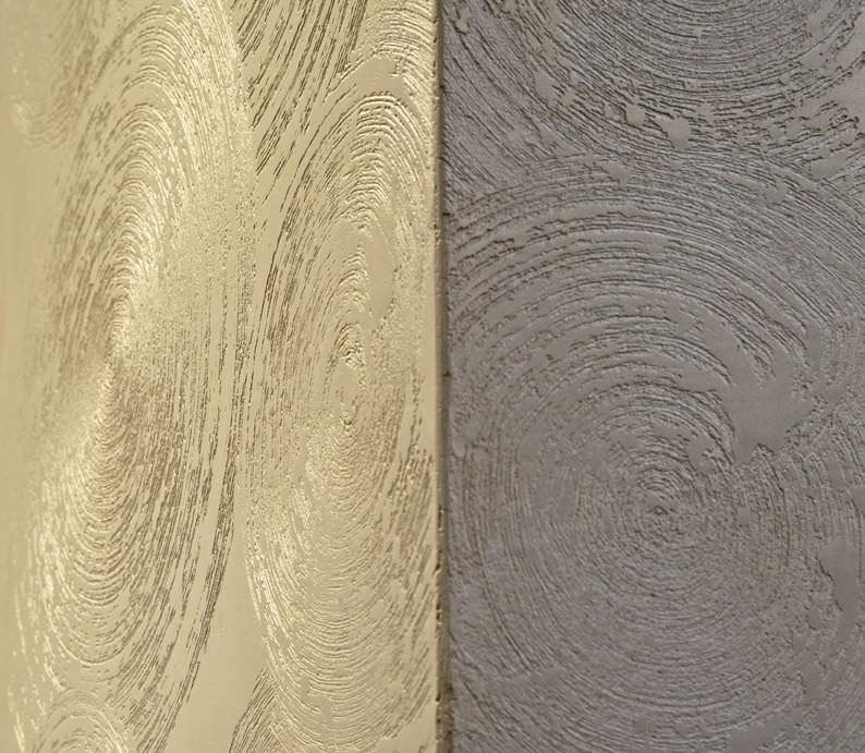 Decorative coating / indoor / for walls / plaster - PIERRE DE PLUIE ...