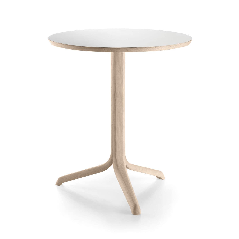 contemporary bistro table  oak  pine  melamine  jantzi by  - contemporary bistro table  oak  pine  melamine jantzi by samuelaccoceberry alki