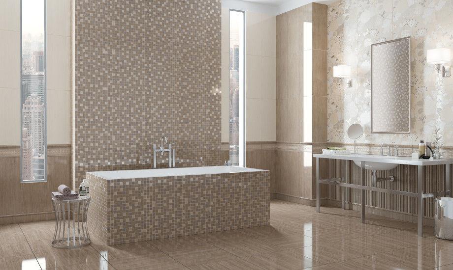 Indoor Tile Floor Porcelain Stoneware Plain Soft Cocoa Naxos
