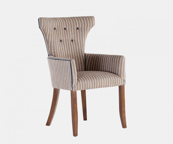Traditional Dining Chair / Upholstered / Fabric HAMMERHEAD William Yeoward