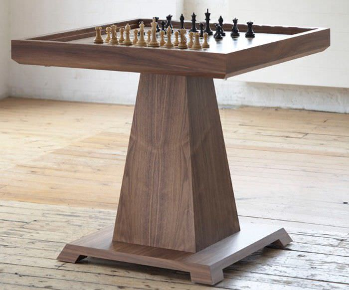 Contemporary Chess Table / Residential ...