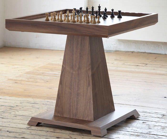 contemporary chess table  Contemporary chess table / residential - VOLTA - William Yeoward