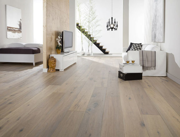 Engineered parquet flooring / glued / oak / oiled AUDE US FLOOR - Engineered Parquet Flooring / Glued / Oak / Oiled - AUDE - US FLOOR