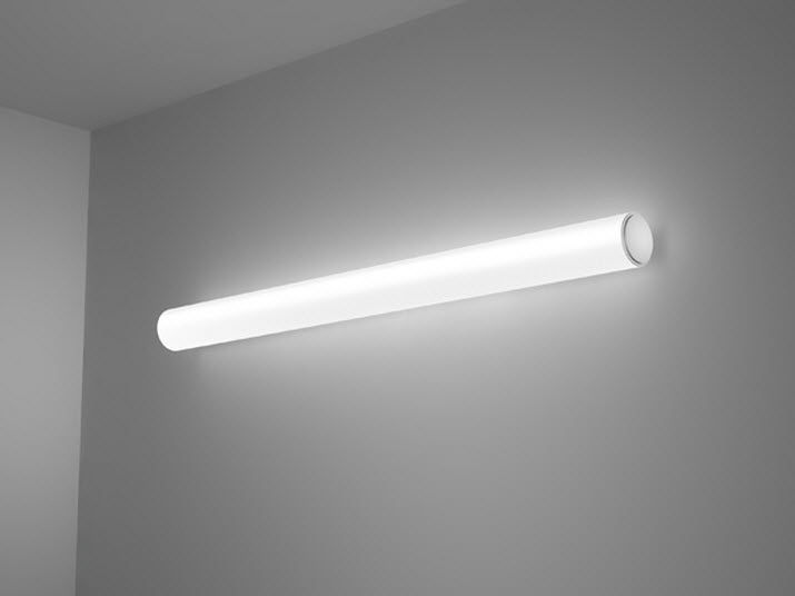 Contemporary Wall Light Aluminum Led Fluorescent