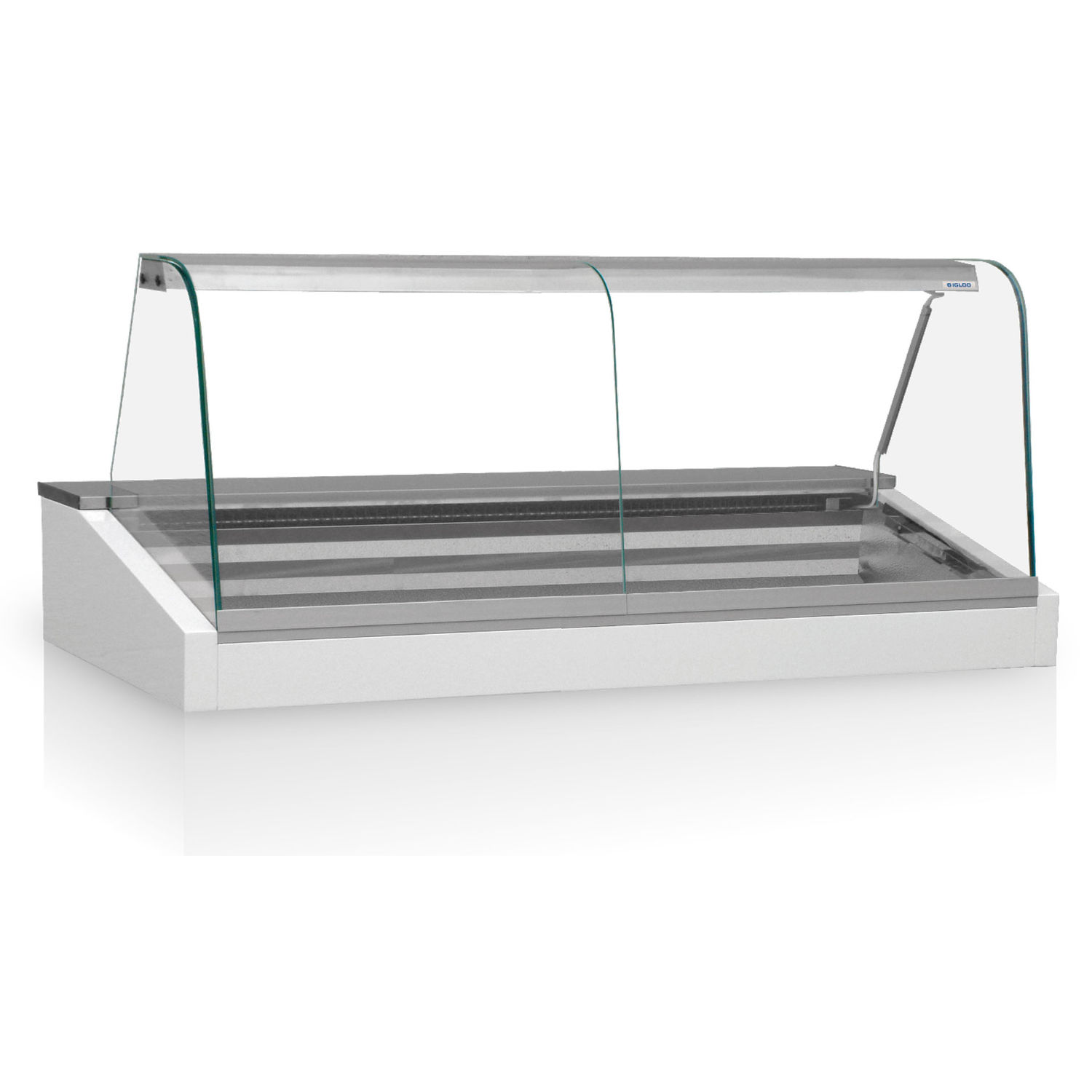 Refrigerated countertop display case / illuminated / for shops ...